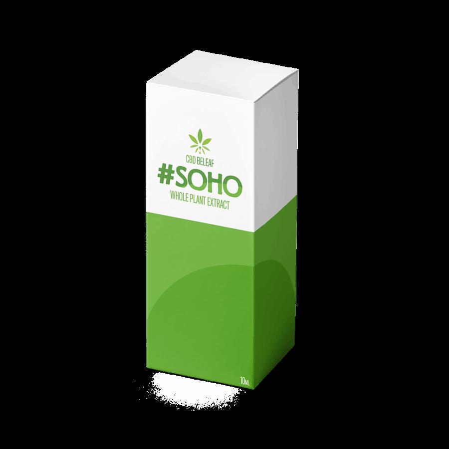 CBD Beleaf Soho Oil 10ml box